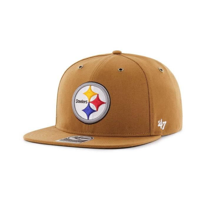画像1: Carhartt × 47 BRAND   Pittsburgh Steelers '47 Captain Cap (1)