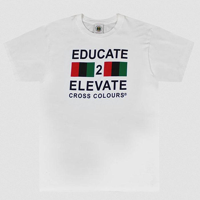 画像1: Cross Colours    Educate 2 Elevate Tee (1)