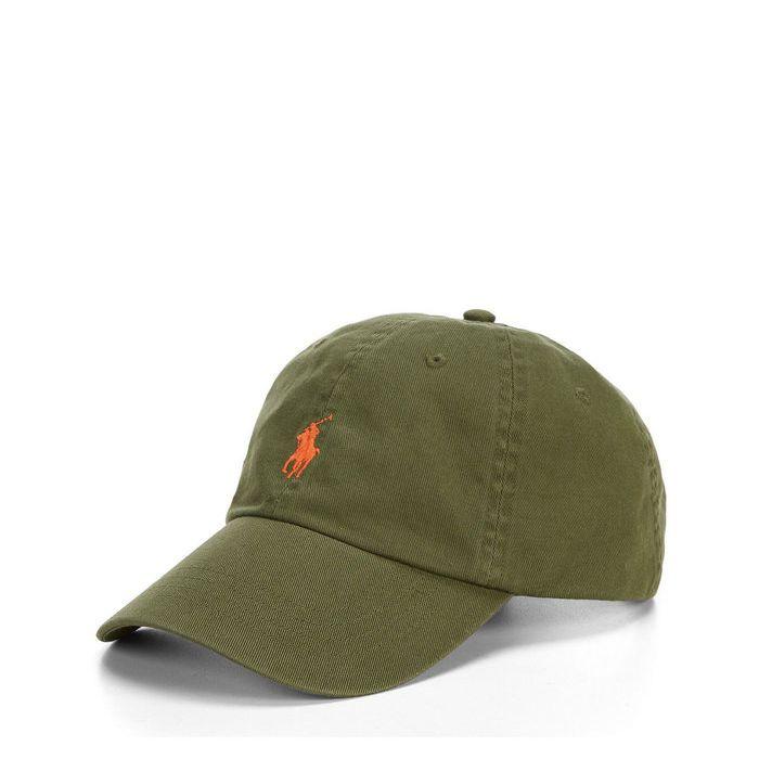 画像1: POLO RALPH LAUREN   signature pony baseball cap GREEN (1)