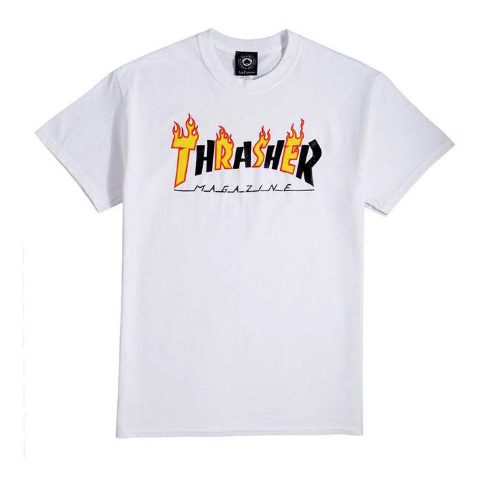 画像1: THRASHER   Flame Mag Logo T-Shirt (1)