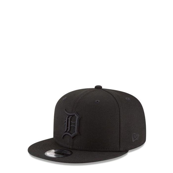 画像1: New Era   Detroit Tigers Blackout 9FIFTY Snapback (1)