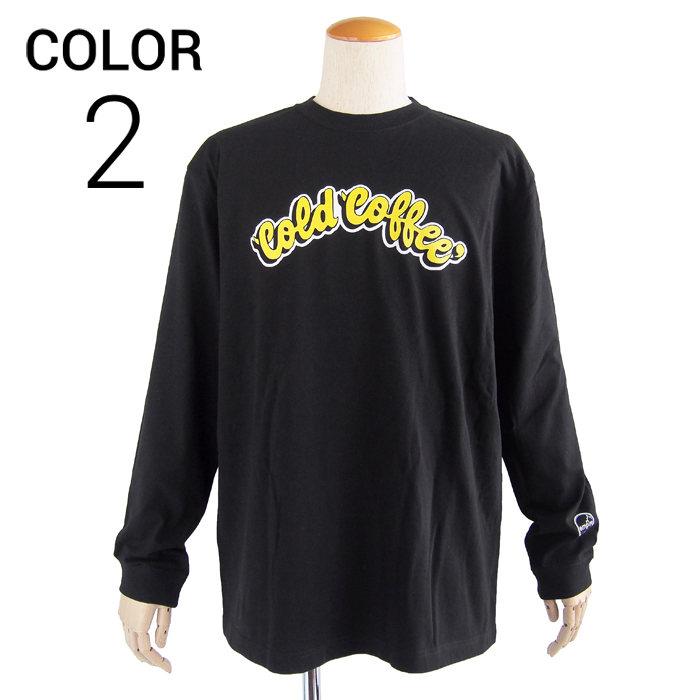 画像1: empire coffee stand  original long sleeve t-shirts Cold Coffee 2color  (1)