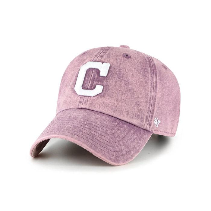 画像1: 47 BRAND WOMAN  Cleveland Indians Snow Cone '47 Clean Up Cap (1)