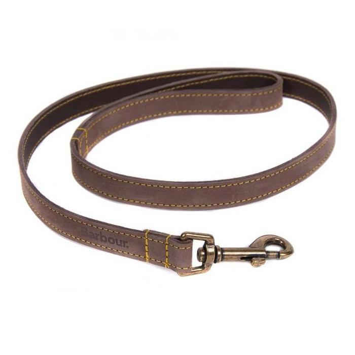 画像1: Barbour   Leather Dog Lead (1)
