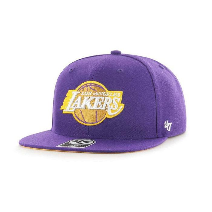 画像1: 47 BRAND   Los Angeles Lakers City Edition '47 Captain Cap (1)