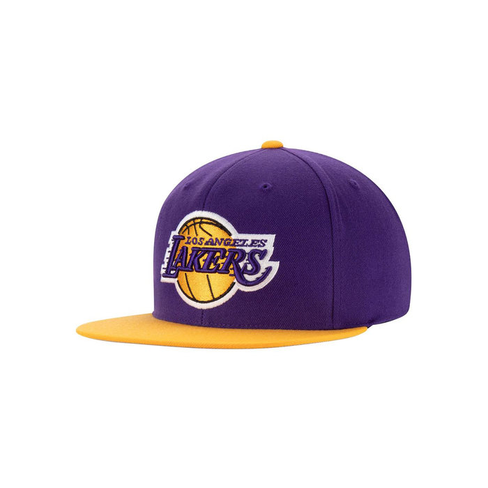画像1: Mitchell & Ness   Los Angeles Lakers 2Tone Snapback (1)