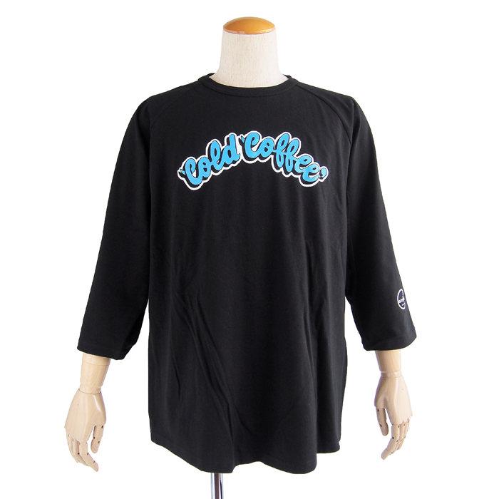画像1: empire coffee stand  original raglan 3/4 sleeve t-shirts Cold Coffee (1)