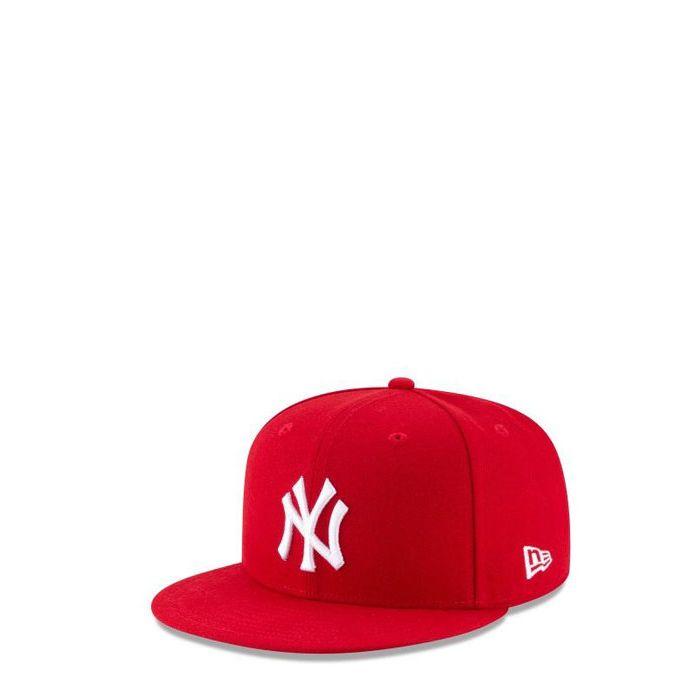画像1: New Era   NY Yankees Basic Scarlet 9FIFTY Snapback (1)