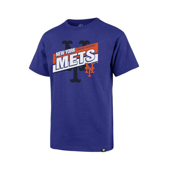 画像1: 47 BRAND KIDS   NY Mets Collector '47 Super Rival Tee (1)