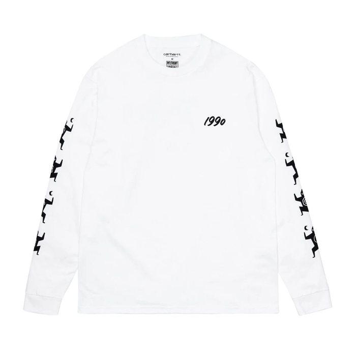 画像1: Carhartt WIP   L/S Ninja Tune T-Shirt (1)
