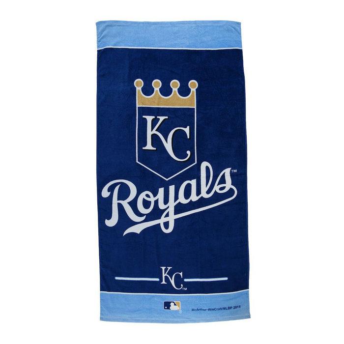 画像1: Kansas City Royals   WinCraft Beach Towel (1)
