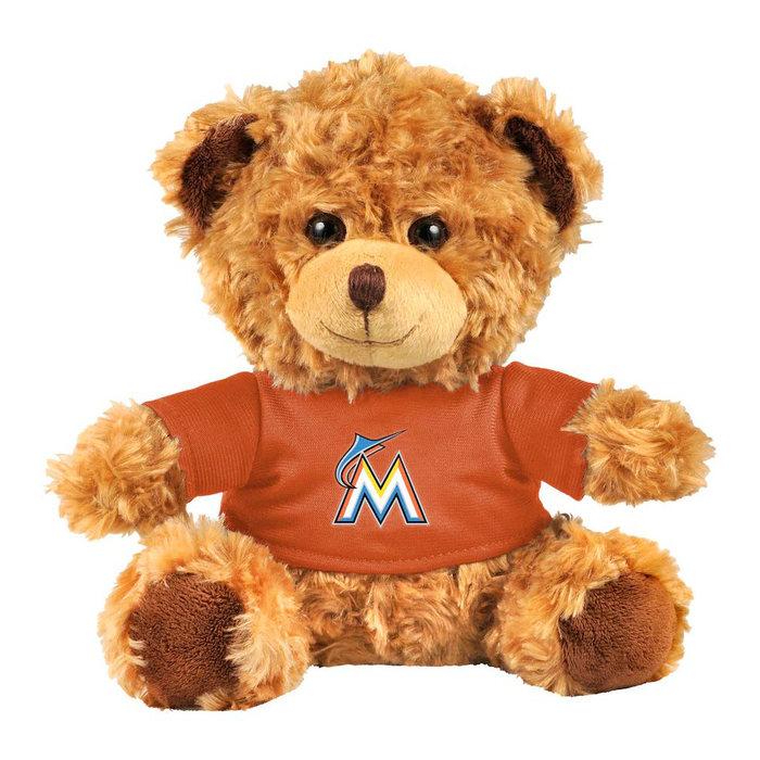 画像1: Miami Marlins   FOCO 10'' Team Shirt Bear (1)