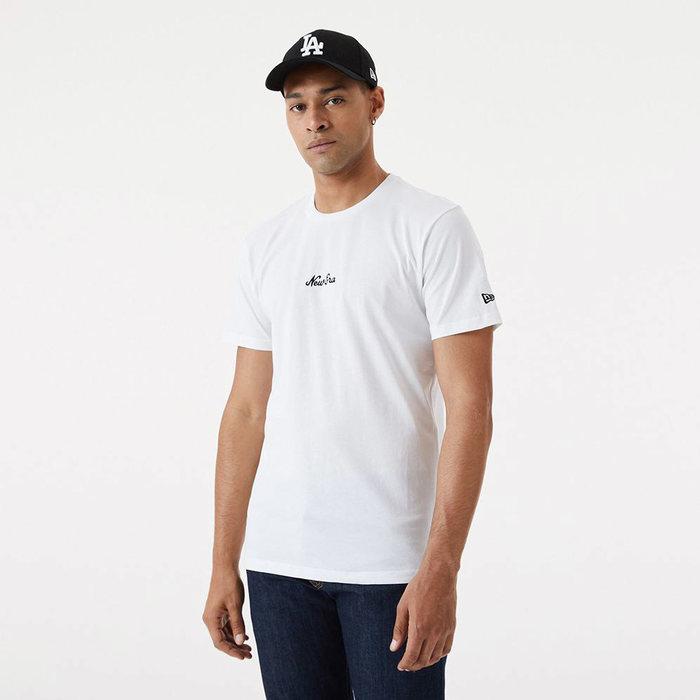 画像1: New Era   Essential Script T-Shirt  (1)