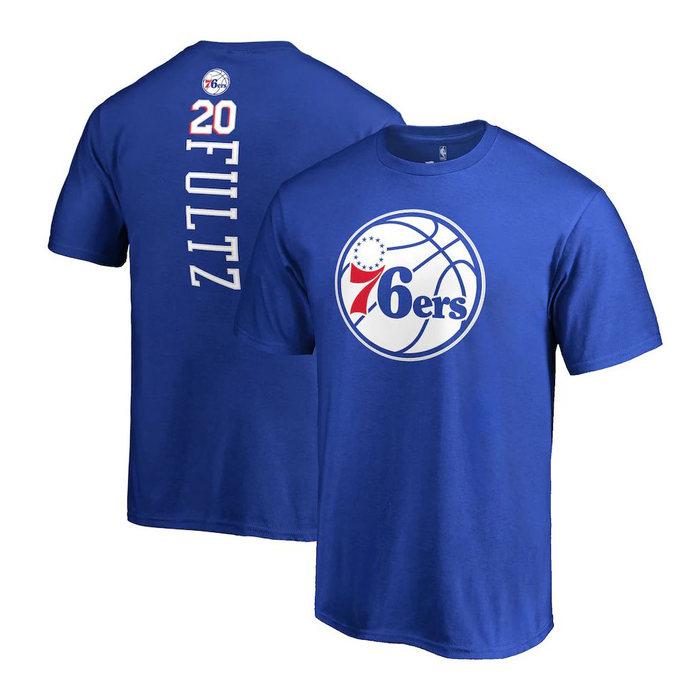画像1: Fanatics YOUTH   Philadelphia 76ers Markelle Fultz Name & Number T-Shirt (1)