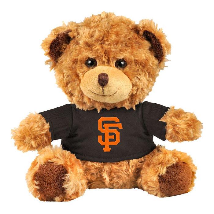 画像1: San Francisco Giants   FOCO 10'' Team Shirt Bear (1)