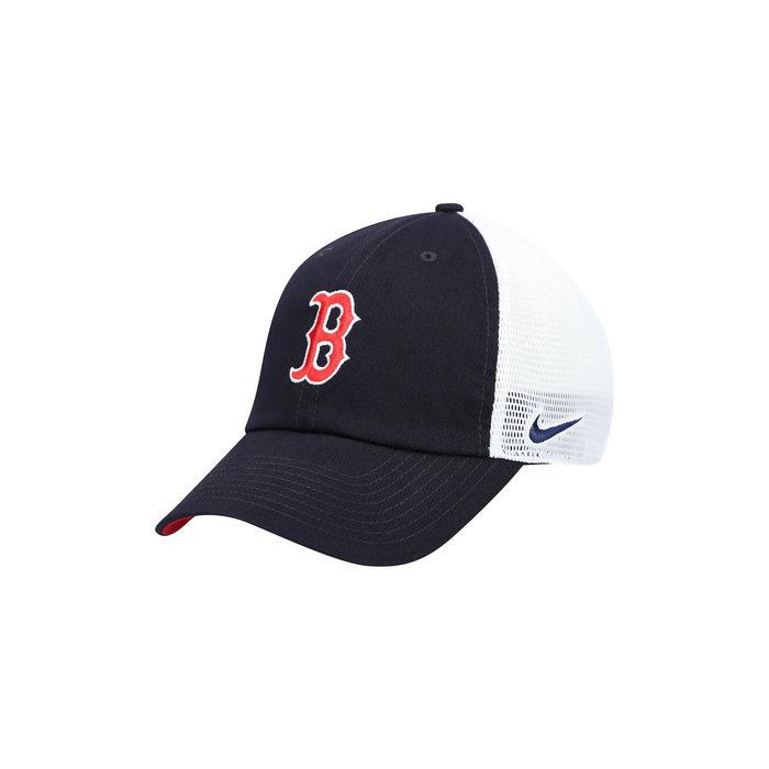画像1: NIKE   Boston Red Sox Heritage 86 Adjustable Trucker Hat (1)