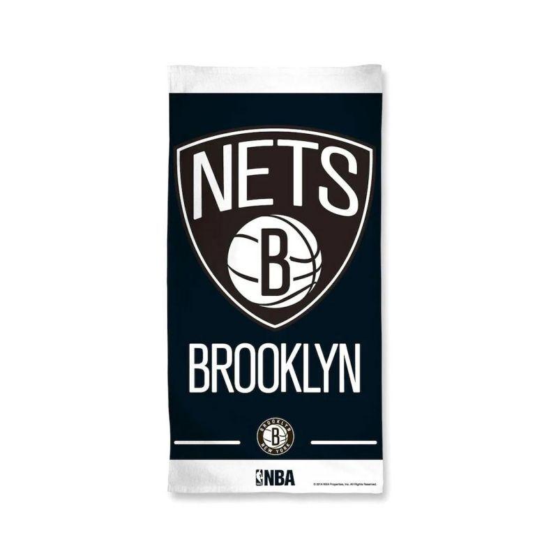 画像1: Brooklyn Nets   WinCraft Beach Towel (1)