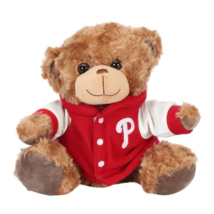 画像1: Philadelphia Phillies   FOCO 10'' Varsity Plush Bear (1)