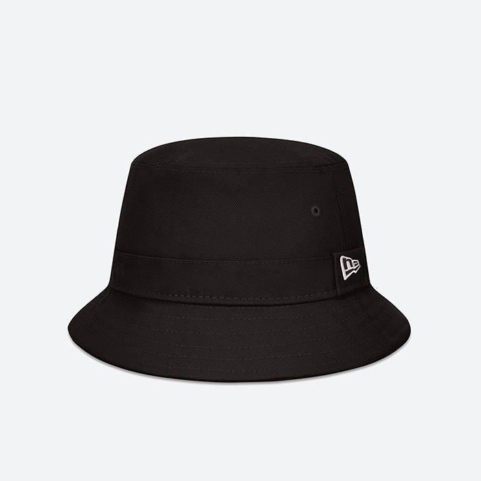 画像1: New Era   Essential Black Bucket Hat (1)