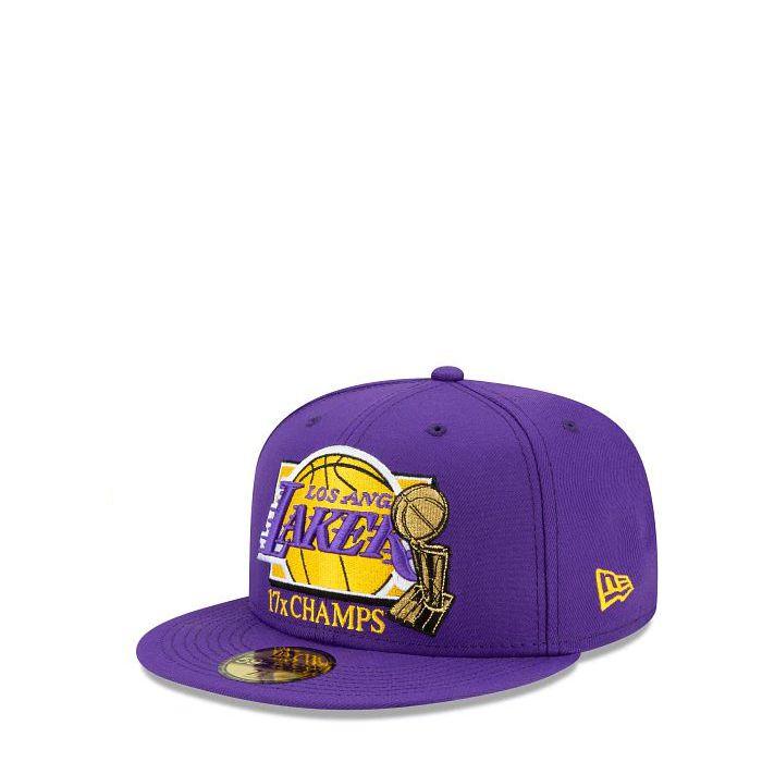 画像1: New Era   Los Angeles Lakers 17x Champs 59FIFTY (1)