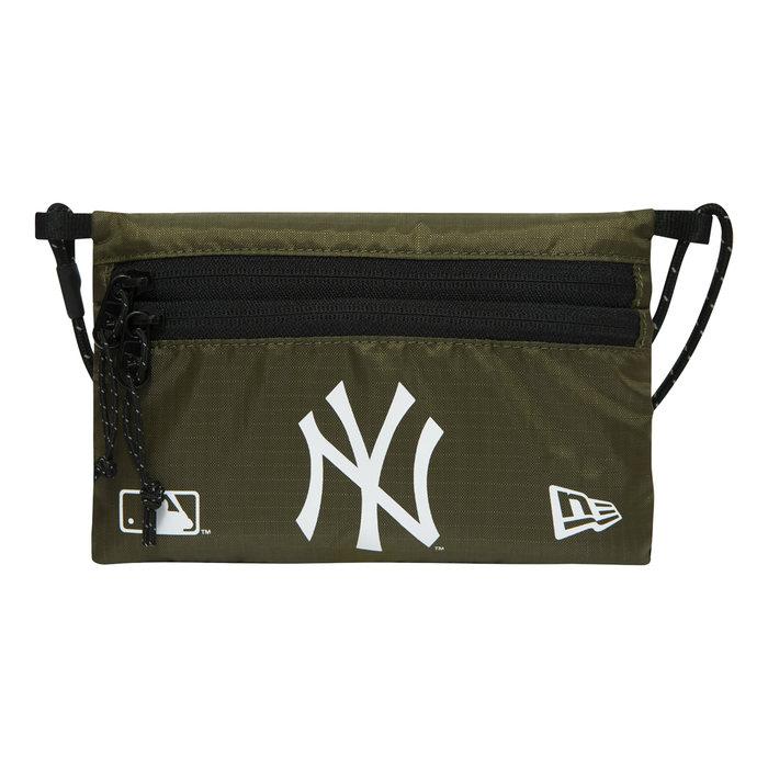 画像1: New Era   NY Yankees Sacoche Mini Green Side Bag (1)