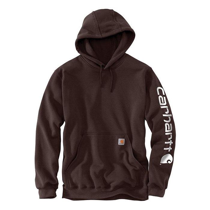 画像1: Carhartt   Midweight Hooded Logo Sweatshirt (Irregular)  (1)